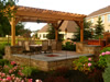 pergola over patio in willoughby ohio
