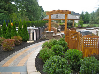 Custom Landscape Design in Ohio