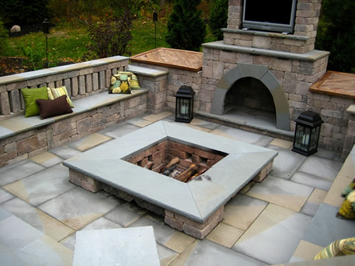 Custom Fire Pits : Fire pits diy pit less than and one weekend home