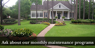 monthly yard maintenance