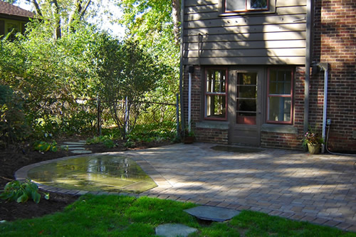 paver patio in shaker heights